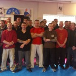 The guys and girls after the completion of the Telford KAPAP levee 1 instructor course