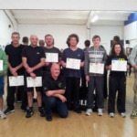 Completion of the KAPAP self defence level instructor course
