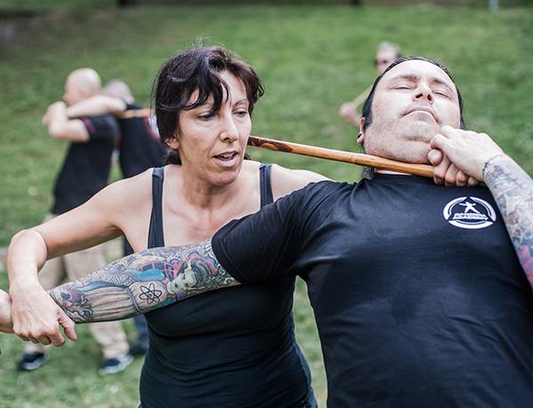 Sue Margerison level 1 Viking KAPAP instructor